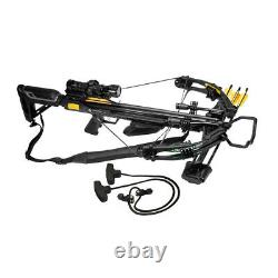 Xpedition Archery Viking Series X-375 Adjustable Outdoor Hunting Crossbow, Black